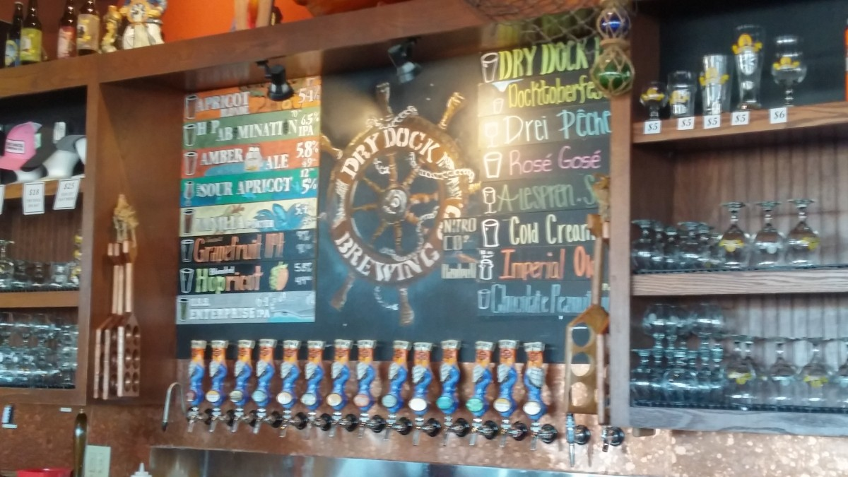 Brewery Snapshot: Dry Dock Brewing South Dock