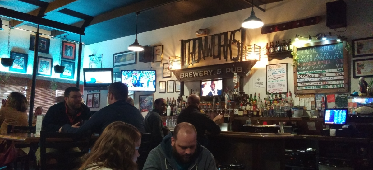 Brewery Snapshot: Ironworks Brewery &Pub