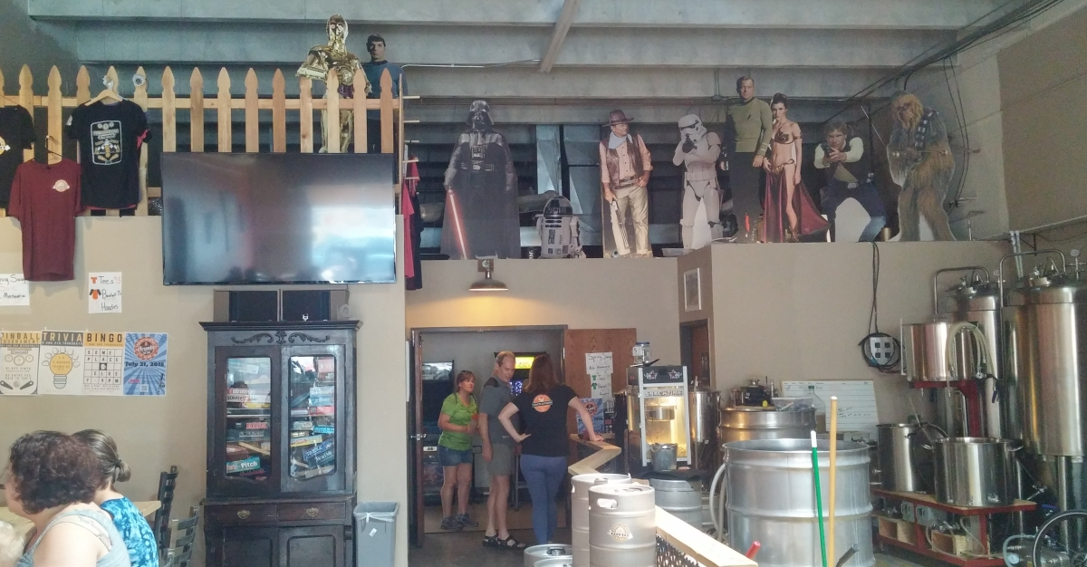 Brewery Snapshot: SomePlace Else Brewery